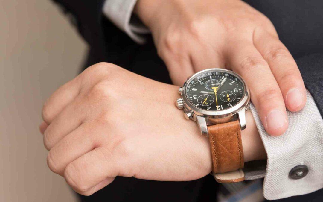 Il galateo dell'orologio